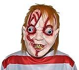 EL CARNAVAL Careta muñeco diabólico Chucky con pelo