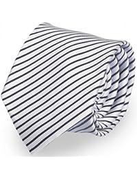Étroit Cravate de Fabio Farini en gris 6cm Largeur