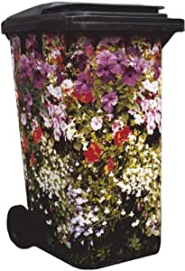 wheelie bin cover with cottage garden design 003 garden outdoors. Black Bedroom Furniture Sets. Home Design Ideas