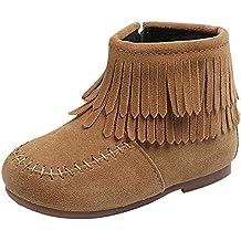 Amazon.es  botas de flecos nina cdc885fdc7a