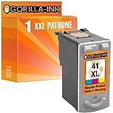 Gorilla-Ink® 1x Tinten-Patrone XXL remanufactured für Canon CL-41 Pixma Color MP140 MP150 MP160 MP170 MP180 MP190 MP210