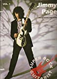 Jimmy Page: Vocal/guitar tablature version (Super rock guitarist) by Jimmy Page (11-Jun-1905) Sheet music