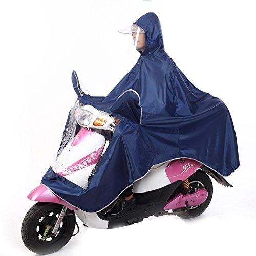 Imperméable électrique de moto double hommes et femmes imperméable de voiture adulte ( Couleur : P ) H
