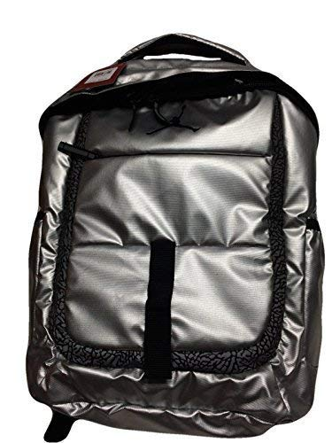 b6f2ab3696e2 Nike Air Jordan Silber Laptop Rucksack Tasche für Männer