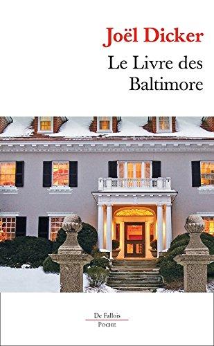 Le Livre des Baltimore POCHE par Joël Dicker