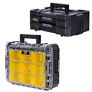 STANLEY FATMAX TSTAK Box IV + Box V 2 Stück Werkzeugboxen FMST1-71969 + 71970