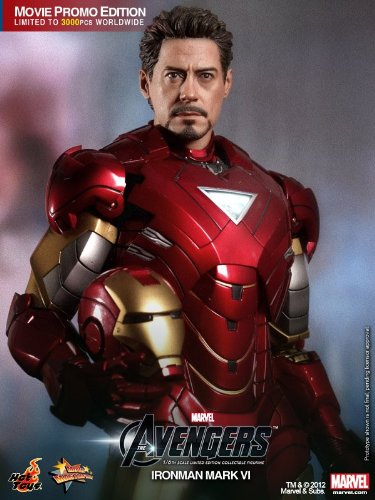 Hot Toys Movie Master Piece - The Avengers: Iron Man Mark VI Movie Promo Edition