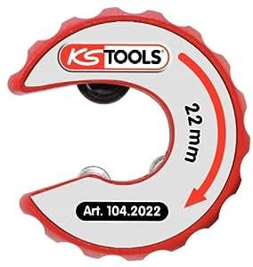 KS Tools 104.2022 Coupe-tube à cliquet pour tubes en cuivre 22 mm (Import Allemagne)