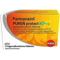 PANTOPRAZOL PUREN protect 20 mg magensaftres.Tabl. 7 St Tabletten magensaftresistent preisvergleich bei billige-tabletten.eu