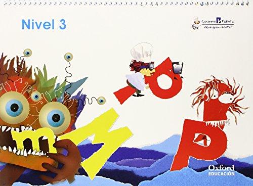 Inf 4 Años Cocinero Pack Cuaderno+Cuentos 3 (Cocinero Y Tableta, Qué Gran Receta)