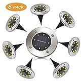 Lampe Solaire Exterieur 8 pack Pulchram LED Lumière Solaire Decoration Jardin...