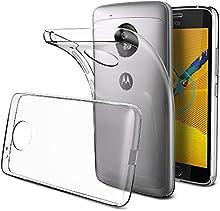 Funda Motorola Moto G5 , Elekin Protector Moto G5 Funda Transparente Gel Silicona Premium Carcasa para Moto G5