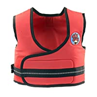 BikyBiky Kids Learn to Cycle Harness Red Reflective Cycle Safety Vest (Red Reflective)