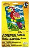 Ursus 8770016 - Moosgummi Mosaik, Papagei, ca. 23 x 16 cm