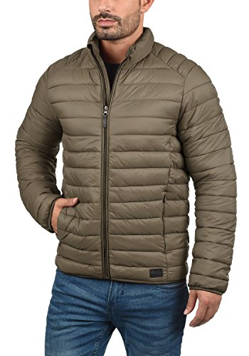 Blend Nils Herren Steppjacke Übergangsjacke Jacke Mit Stehkragen, Größe:S, Farbe:Mocca Brown (71508) - 2