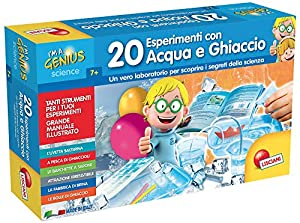 Lisciani 56309 Kit de experimentos Juguete y Kit de Ciencia para niños - Juguetes y Kits de Ciencia para niños (Física, Kit de experimentos, 7 año(s), Niño/niña, Multicolor, Italia)
