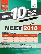 Super 10 Mock Tests for NEET 2018