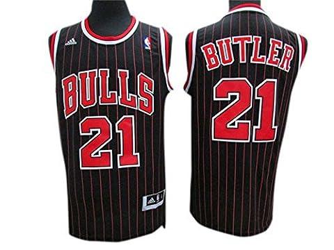 Bulls 21 Jimmy Butler Black New Revolution 30 Jersey Size-XXXL by Simona