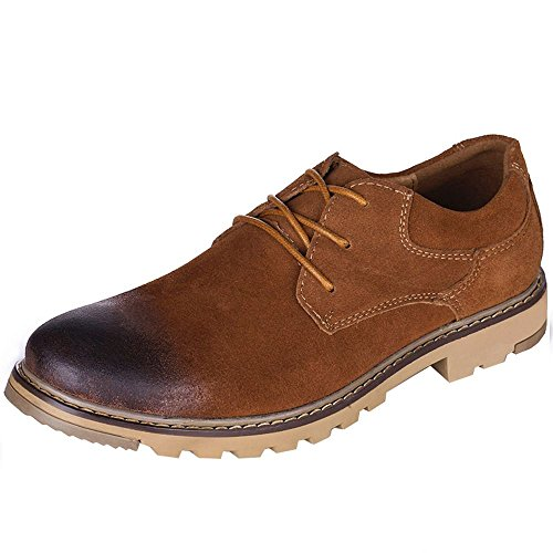 imayson-mens-business-oxfords-flats-lace-up-genuine-leather-shoes-uk-65-color-brown