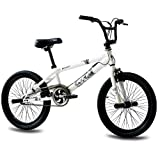 Unbekannt '20 BMX bicicletta per bambini KCP Doom 360 Rotor Freestyle Bianco - 50,8 cm (20 pollici)