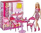 Barbie ~ 30,5cm Glam dining Room set: Barbie Home Furnishing set