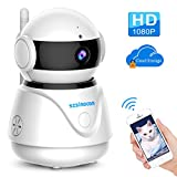 [Updated Version] IP Camera,SZSINOCAM WIFI Camera 1080p FHD Security Camera with Night Vision, Cloud Service Available ,Pan/Tilt/zoom,Motion Detection,2-Way Audio Wireless Camera for Baby/Elder/Pet