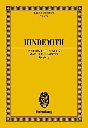 Sinfonie 'Mathis der Maler' Partitur
