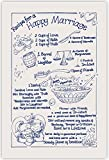 Best Gifts For Newlyweds - RECIPE FOR A HAPPY MARRIAGE Tea Towel 100% Review