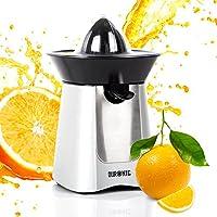 Duronic JE6SR Silver 100W Powerful Citrus Press Juicer