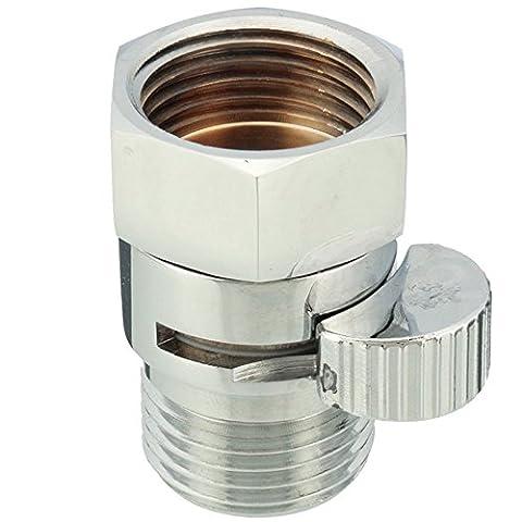 ungfu Cool en laiton 11/5,1cm Angle Valve Interrupteur Cartouche Disque en céramique pour flexible de douche de tête Conduite Forcée