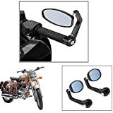 #7: Vheelocity Motorycle Bar End Mirror Rear View Mirror OvalFor Royal Enfield Classic
