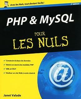 PHP & MySQL pour les Nuls par [Valade, Janet]