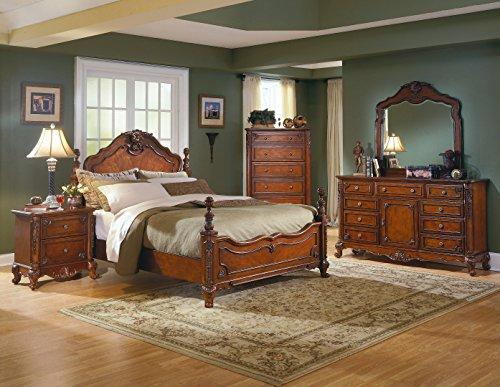 mousasgallery Lusso Camera da letto set – in legno massiccio ...