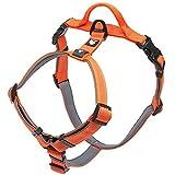 Kaka Mall Hundegeschirr Atmungsaktive Material Brustgeschirr 3M Reflektierendes Y-Geschirr für