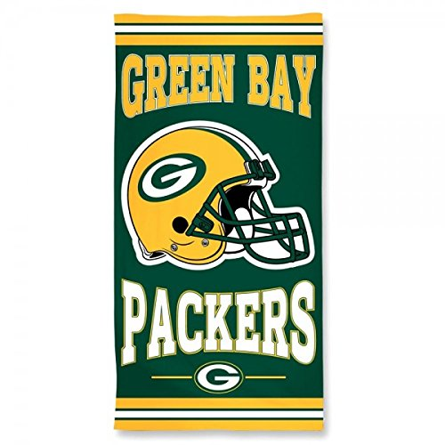 Wincraft NFL GREEN BAY PACKERS Fiber Beach Towel