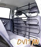 OVITAN Hundegitter fürs Auto 10 Streben universal zur Befestigung an den Kopfstützen der Vordersitze – für alle Automarken geeignet – Modell: V10 - 2