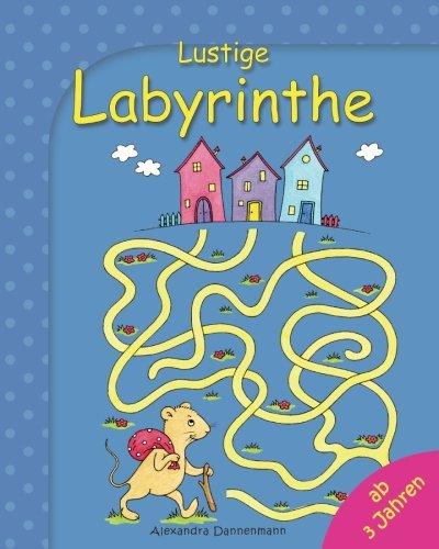 Lustige Labyrinthe: Rätselspaß für Kinder ab 3 Jahren
