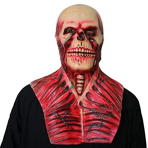 Circlefly Halloween Horror Alien Maske Kostüm Abschlussball Zombie Schädel Maske Erwachsene (Alien Halloween Kostüme Für Erwachsene)