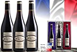 Luxus Wein-Geschenk Frankreich | Vintage France 3er Set | Syrah, Cabernet Sauvignon Cuvée | Das Luxusgeschenk für Wein-Freunde & Kenner | limitierte Edition| mit Geschenkkarte| 45 Jahre alte Reben