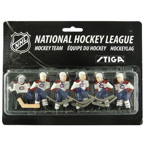 Stiga NHL Montreal Canadiens Tisch Top Hockey Game Players Team Pack -