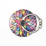 uposao Multicolore ronde strass DIAMOND Anneau de support Support pour smartphone des doigts pour la main. Housse de pour une meilleure une main–Lotus Fleur