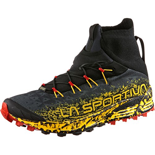 La Sportiva Uragano GTX, Scarpe da Trail Running Unisex-Adulto, Multicolore (Black/Yellow 000), 47 EU
