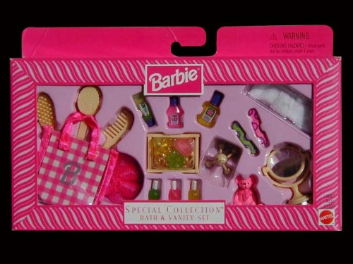 Barbie - Special Collection - Bath & Vanity Set by Mattel