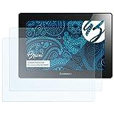 Bruni Schutzfolie für Lenovo IdeaTab S6000 Folie - 2 x glasklare Displayschutzfolie