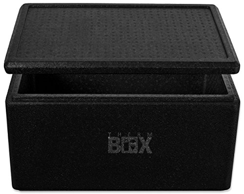 5B | Innen: 53x33x25cm | Wand:3,0cm | Volumen: 45,3L | Styroporbox Thermobox Kühlbox Warmhaltebox ()
