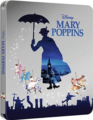 Mary Poppins Limited Edition Steelbook [Blu-Ray Disney Exclusive]