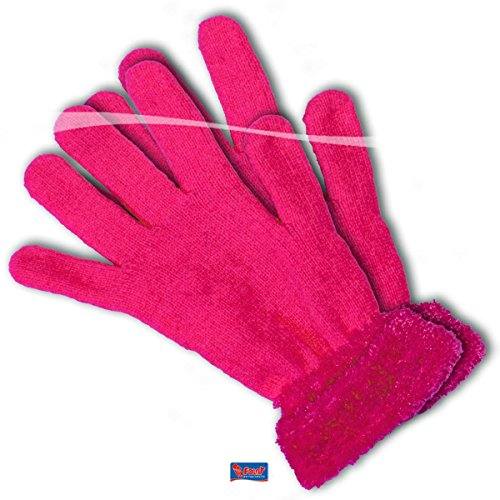 pinke Handschuhe