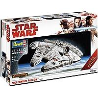 Revell Maqueta de, Star Wars 1: 144–Millennium Falcon, Niveles 5, orgin Algas fidelidad imitación con Muchos Detalles–06880