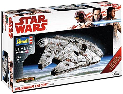 Revell Maqueta de, Star Wars 1: 144-Millennium Falcon, Niveles 5, orgin Algas...