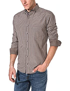 [Sponsorizzato]Vegea Camicia a Quadri Uomo| Slim Fit Multicolore